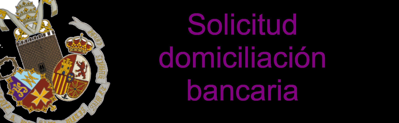 solicitud domiciliacion bancaria hermandad de jesus la algaba