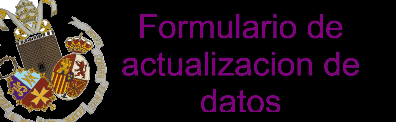 formulario actualizacion de datos