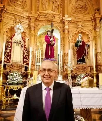 Hermano Mayor hermandad de jesus la algaba