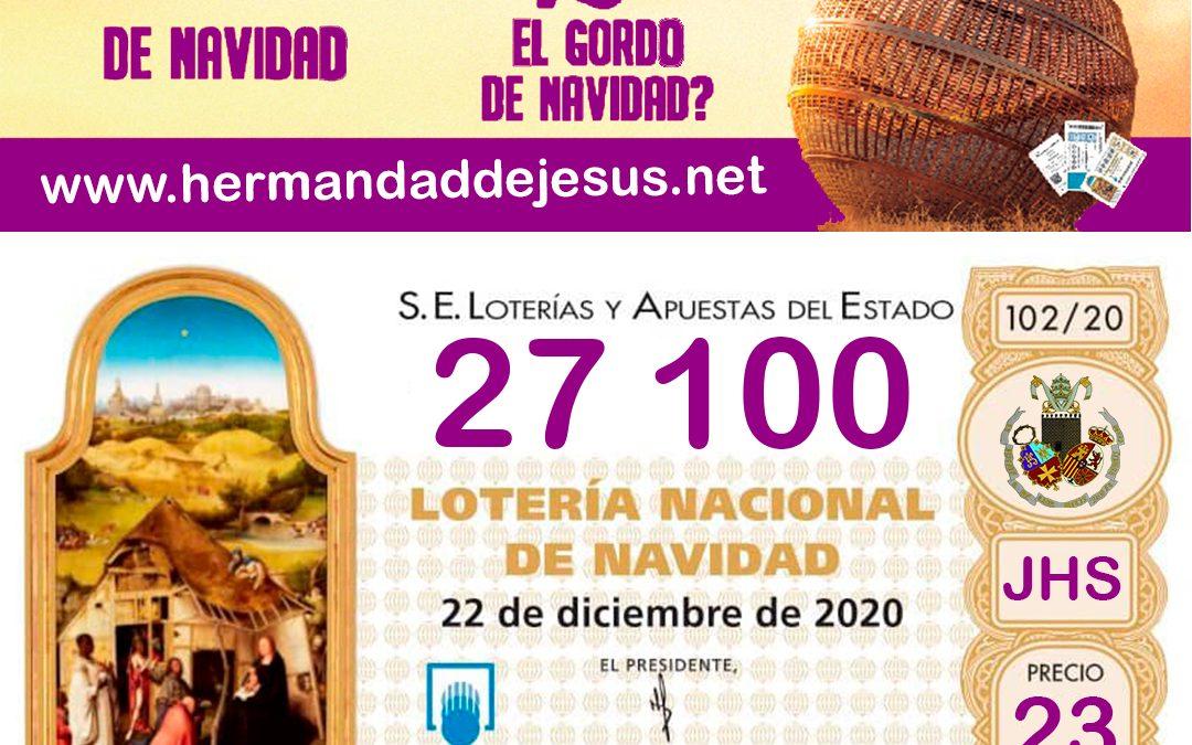 loteria de navidad hermandad de jesus